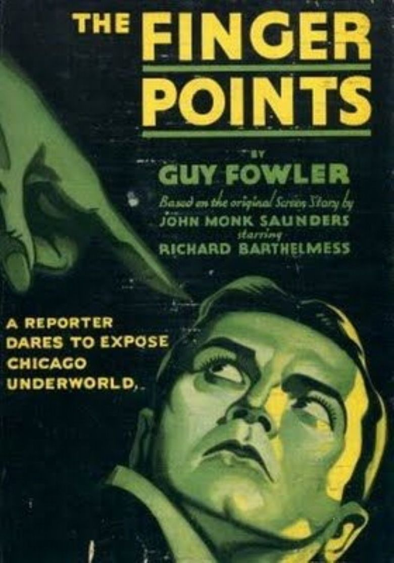 The Finger Points movie poster