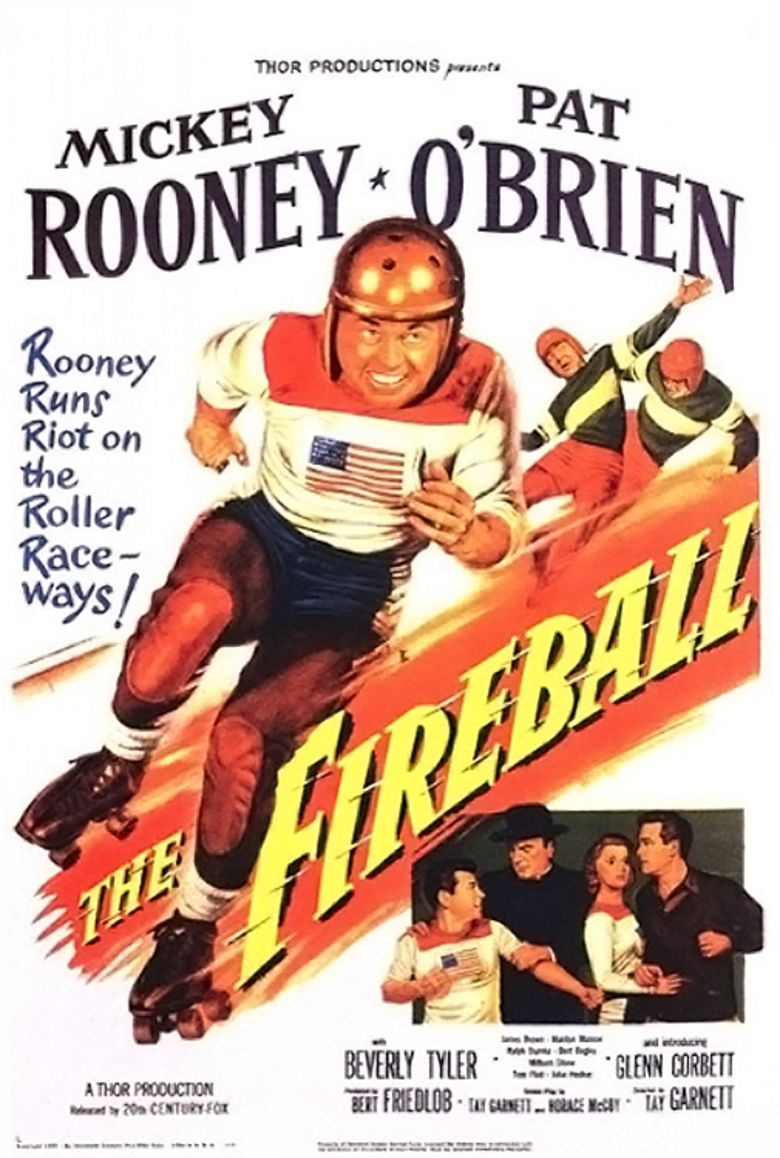 The Fireball movie poster