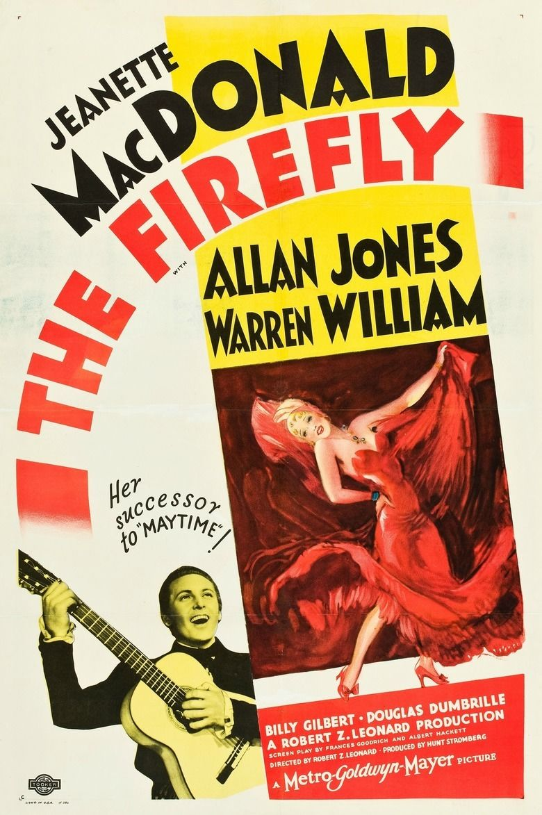 The Firefly (film) movie poster