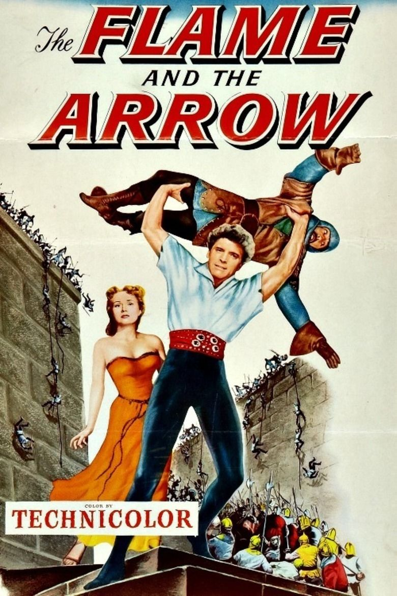 The Flame and the Arrow movie poster