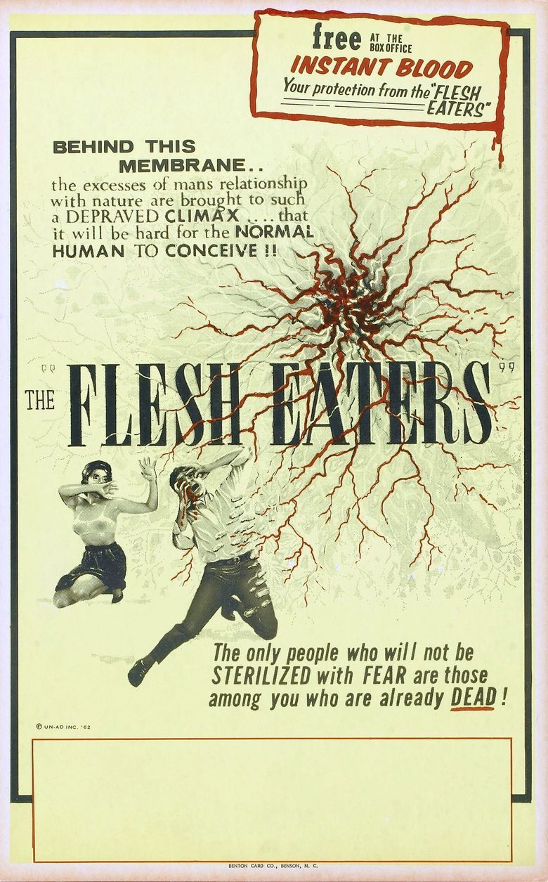 The Flesh Eaters (film) movie poster