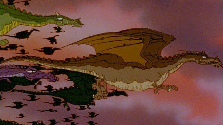The Flight of Dragons movie scenes