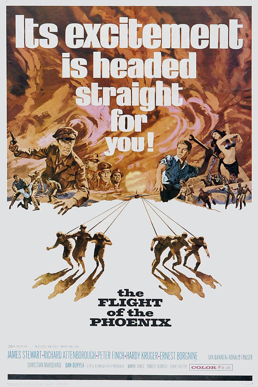 The Flight of the Phoenix (1965 film) movie poster