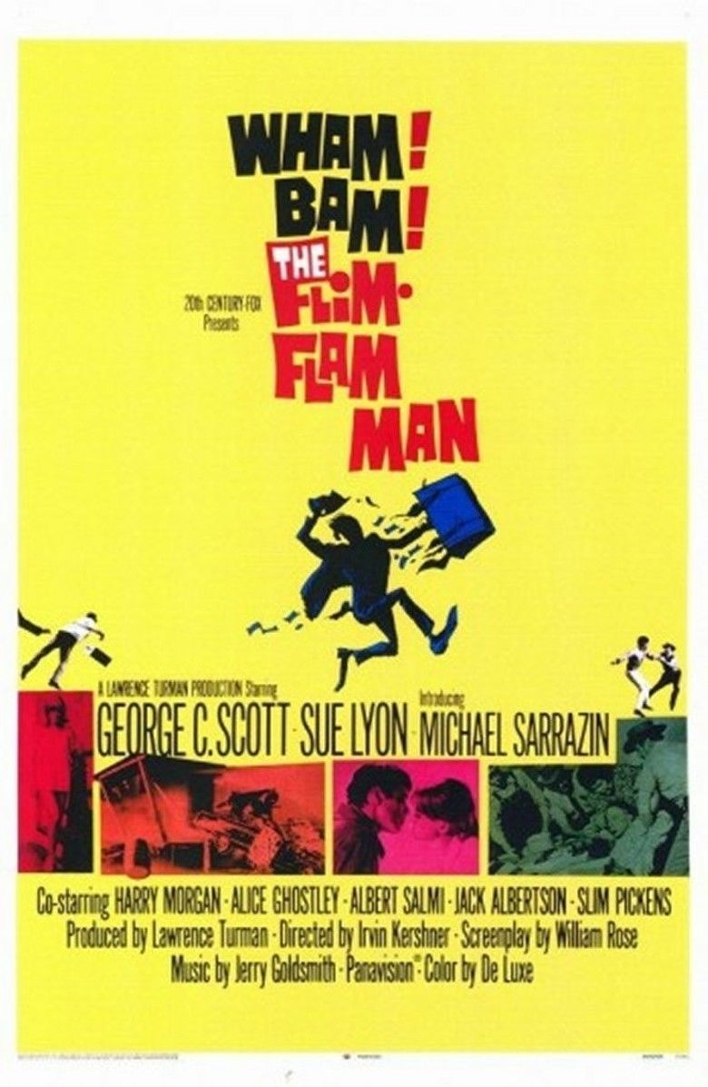 The Flim Flam Man movie poster