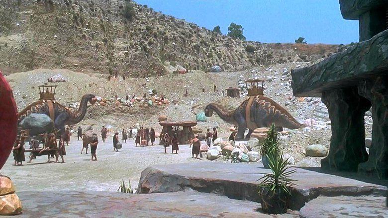 The Flintstones (film) movie scenes