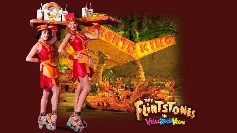 The Flintstones in Viva Rock Vegas movie scenes