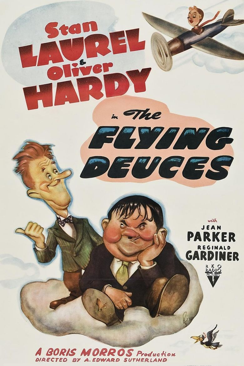 The Flying Deuces movie poster