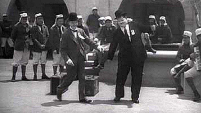 The Flying Deuces movie scenes
