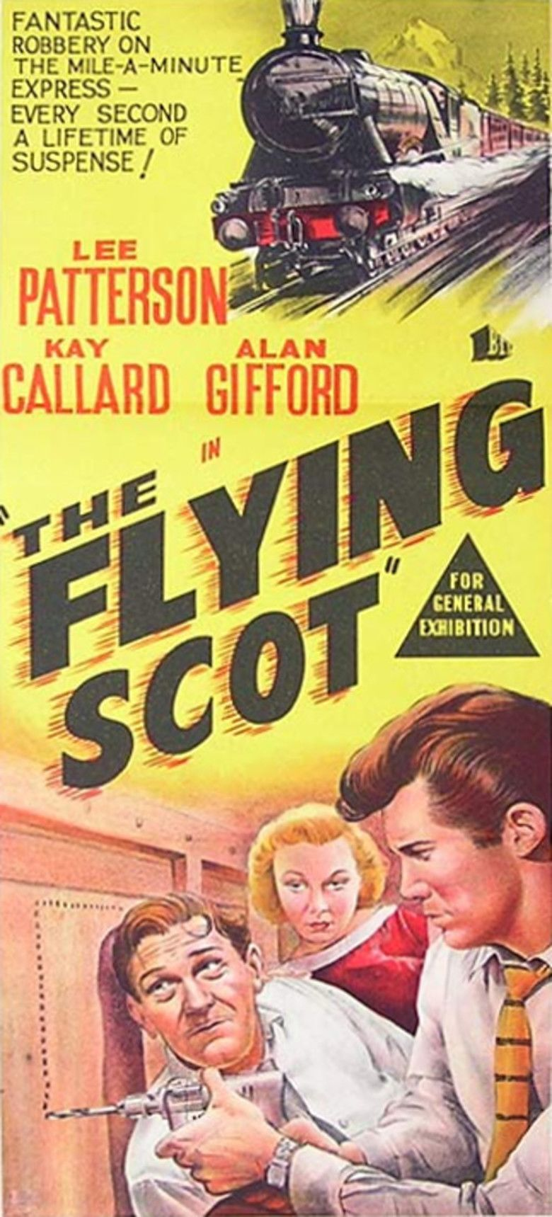 The Flying Scot (film) movie poster