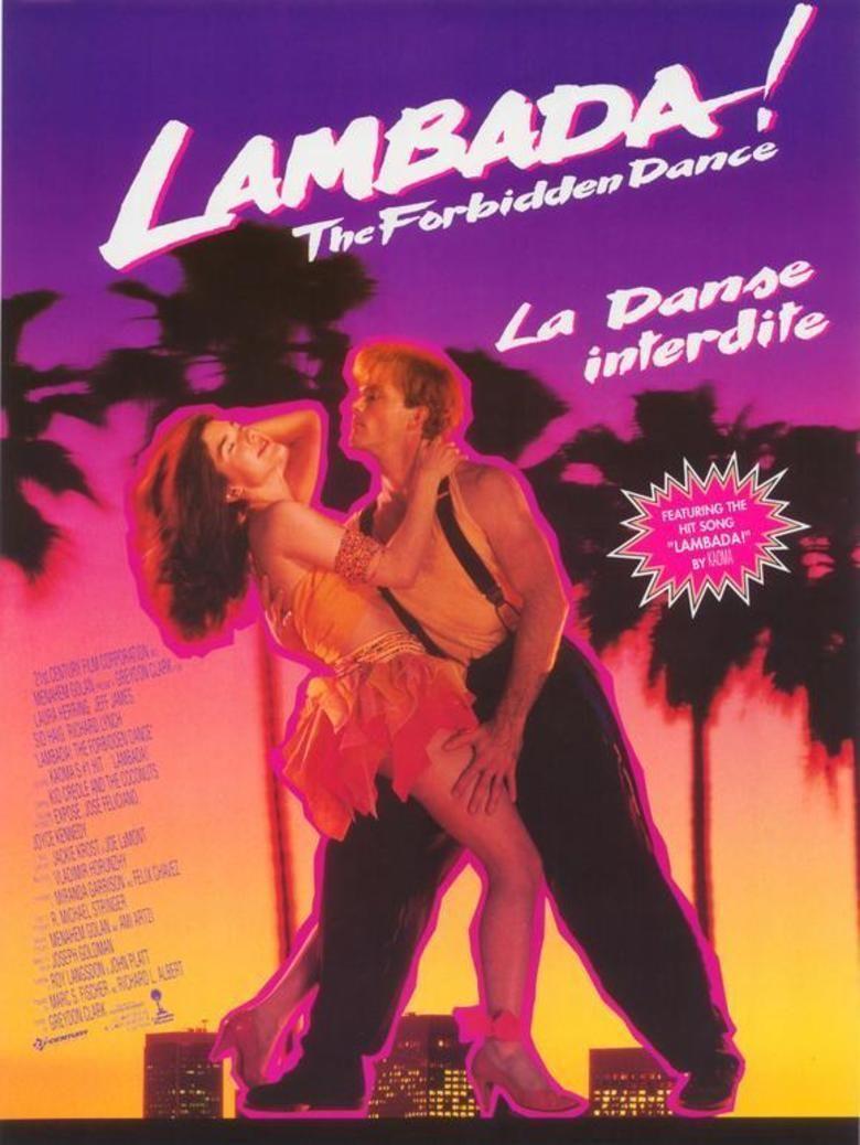 The Forbidden Dance movie poster