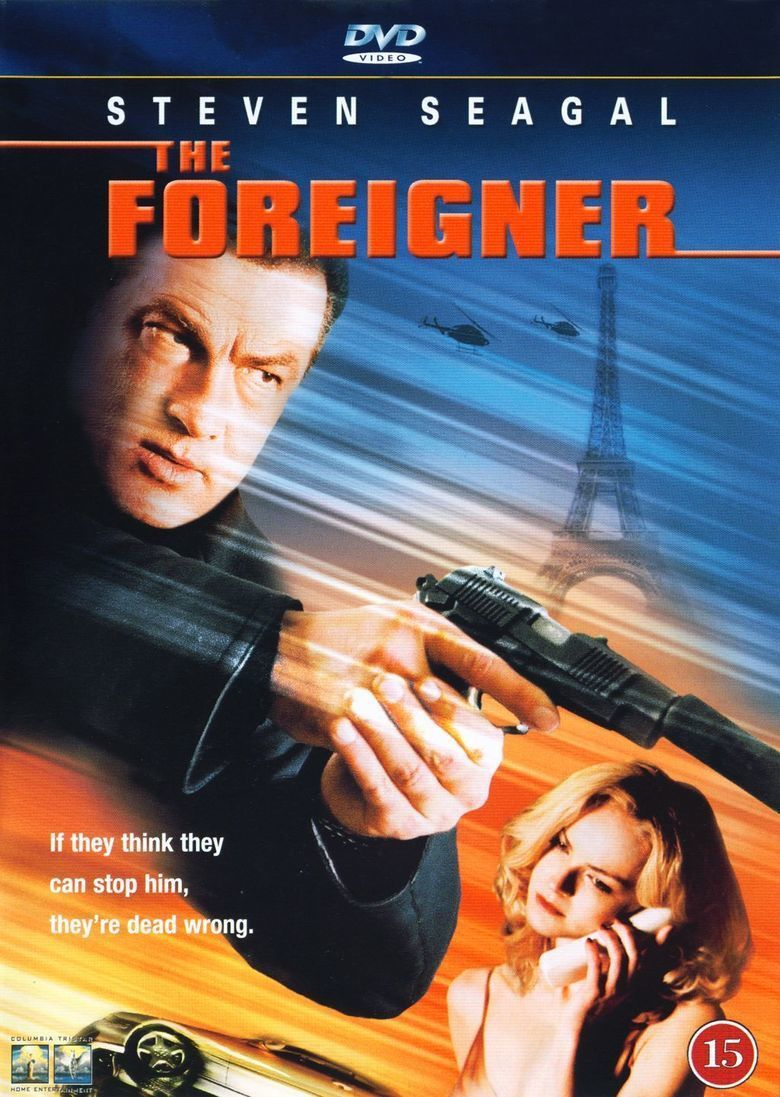 The Foreigner (film) movie poster