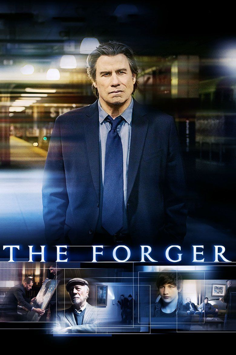 The Forger (2014 film) movie poster