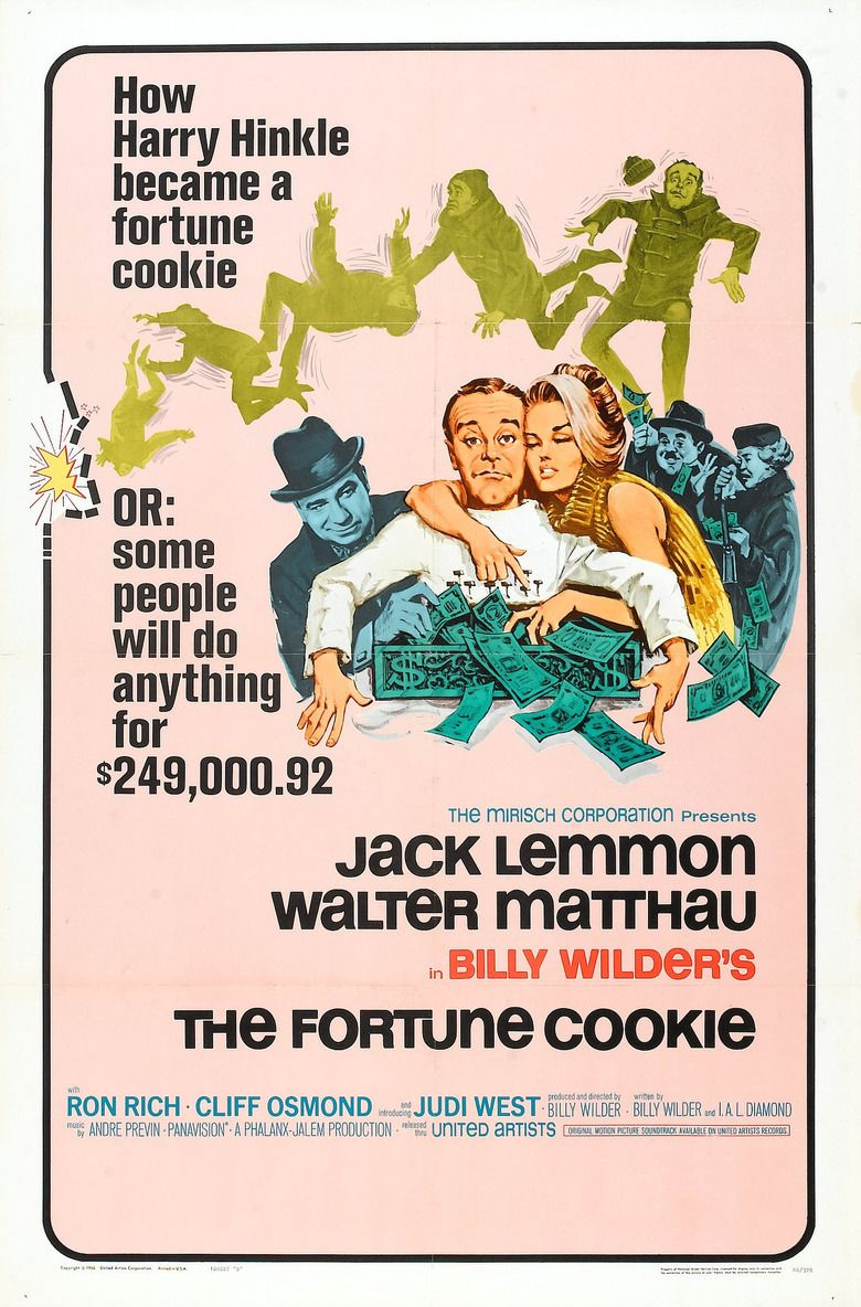 The Fortune Cookie movie poster