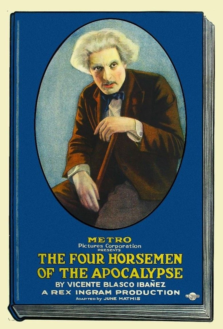 The Four Horsemen of the Apocalypse (film) movie poster