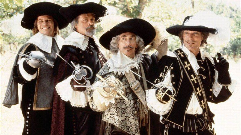 The Four Musketeers (film) movie scenes
