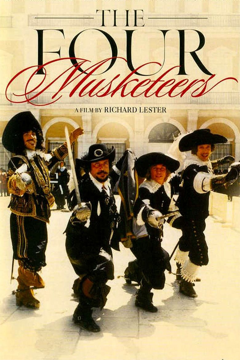 The Four Musketeers (film) movie poster