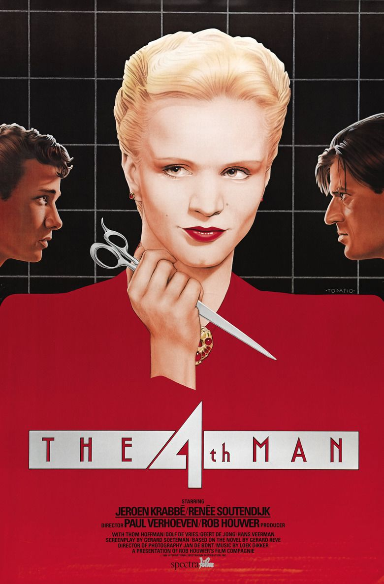 The Fourth Man (1983 film) movie poster