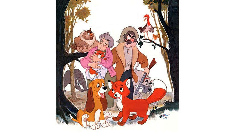 The Fox and the Hound movie scenes