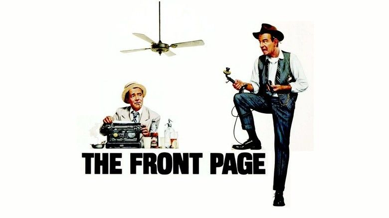 The Front Page (1974 film) movie scenes