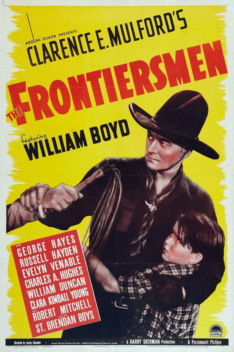 The Frontiersmen movie poster