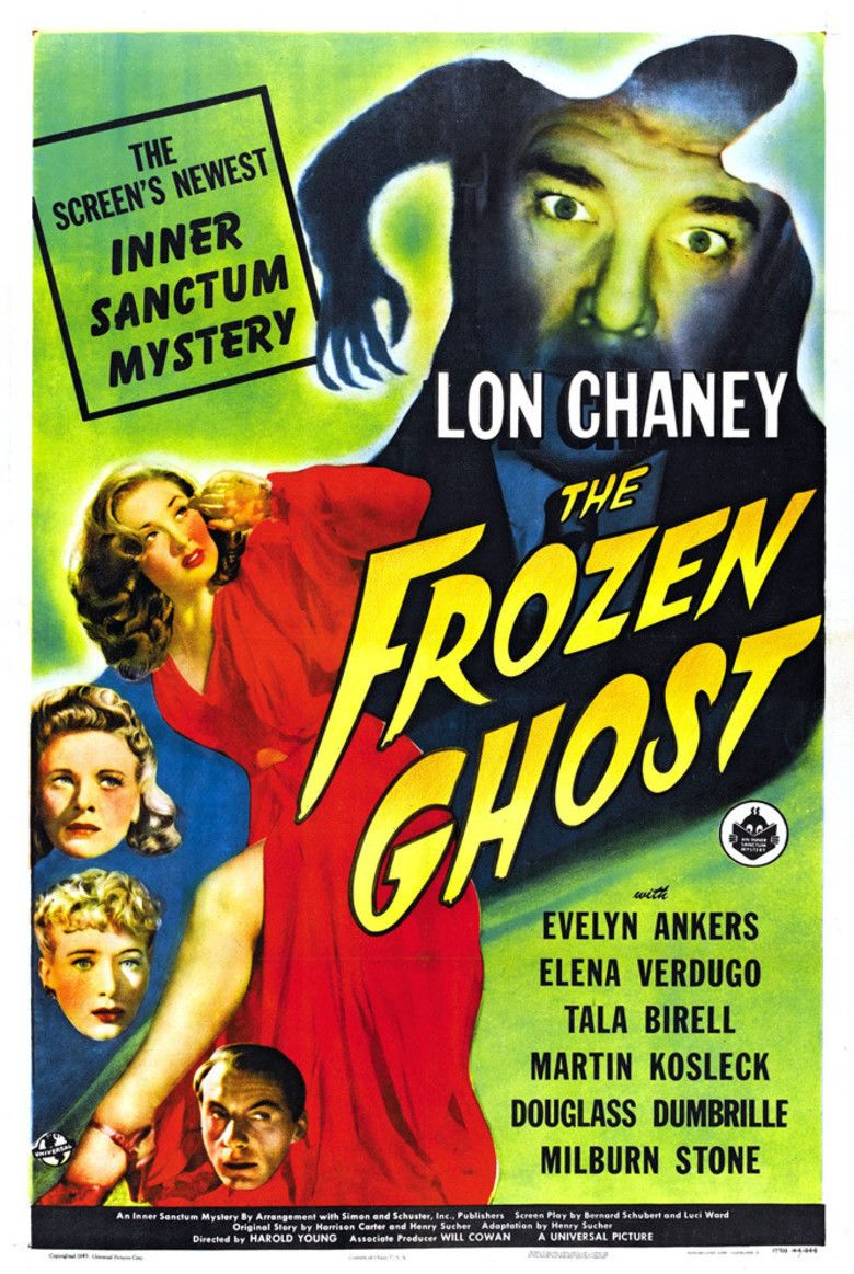 The Frozen Ghost movie poster