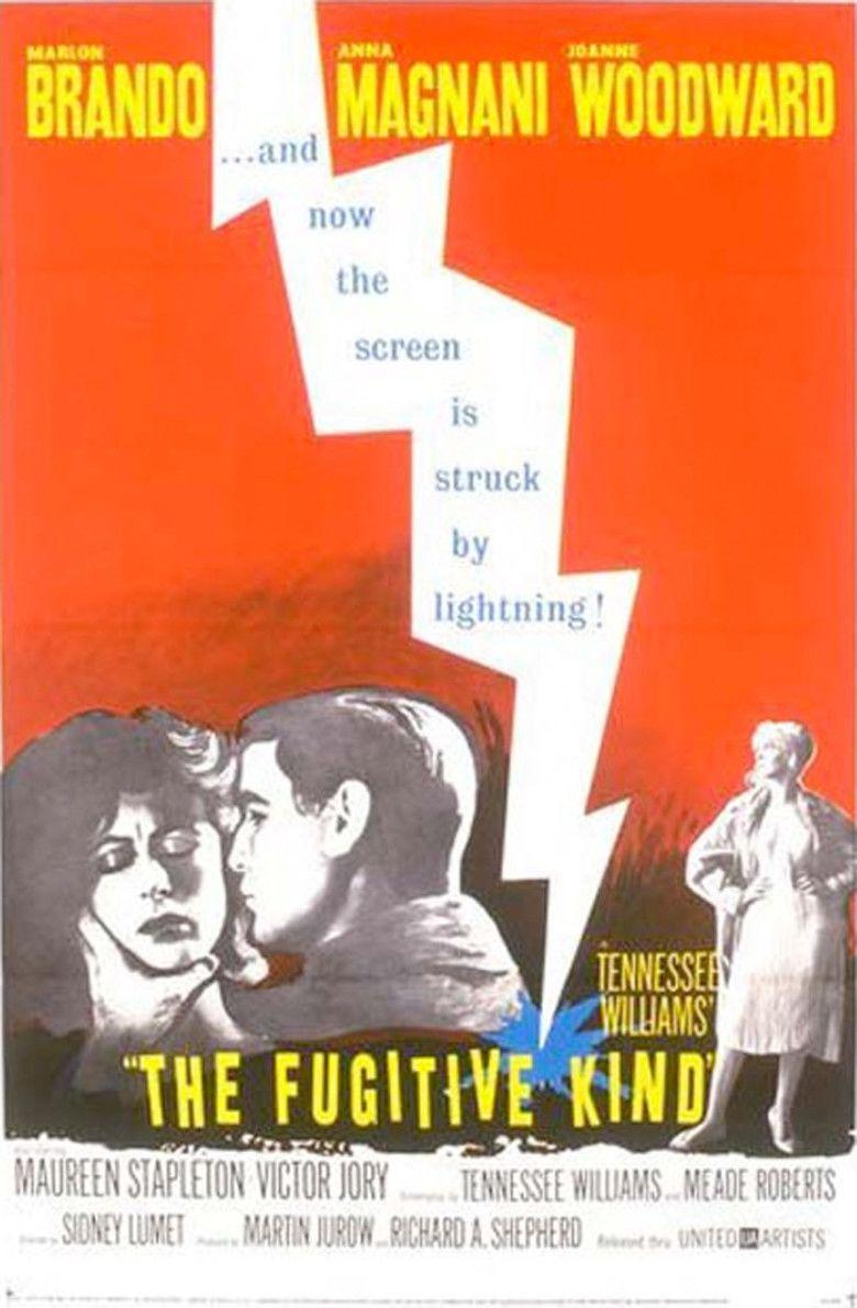 The Fugitive Kind movie poster