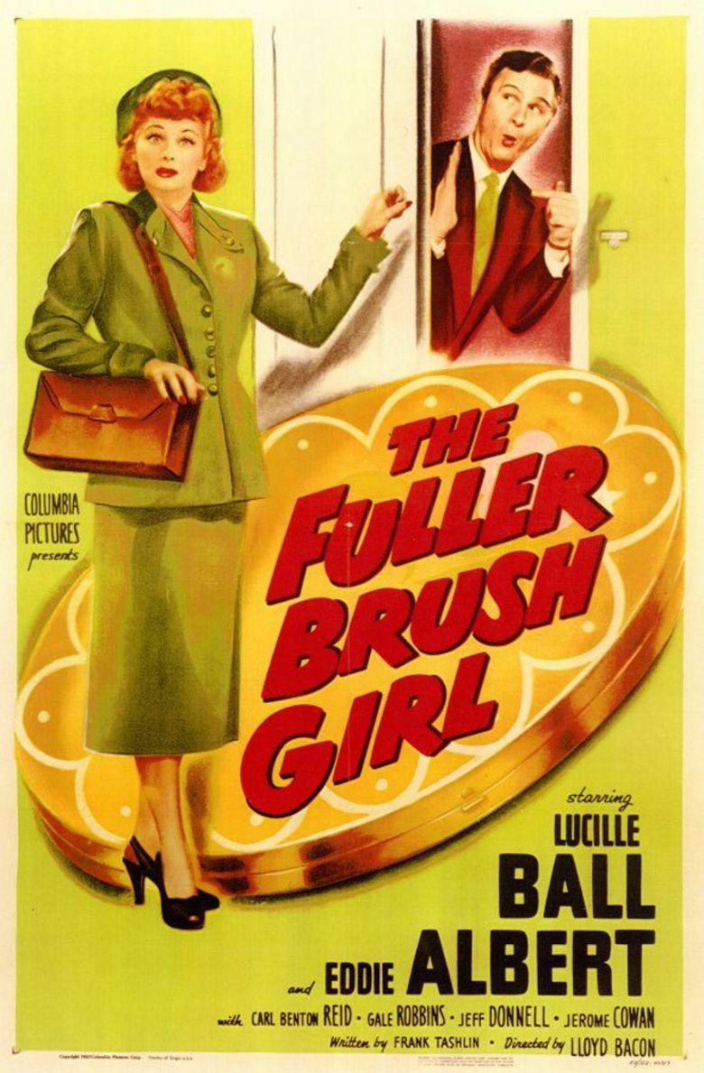 The Fuller Brush Girl movie poster