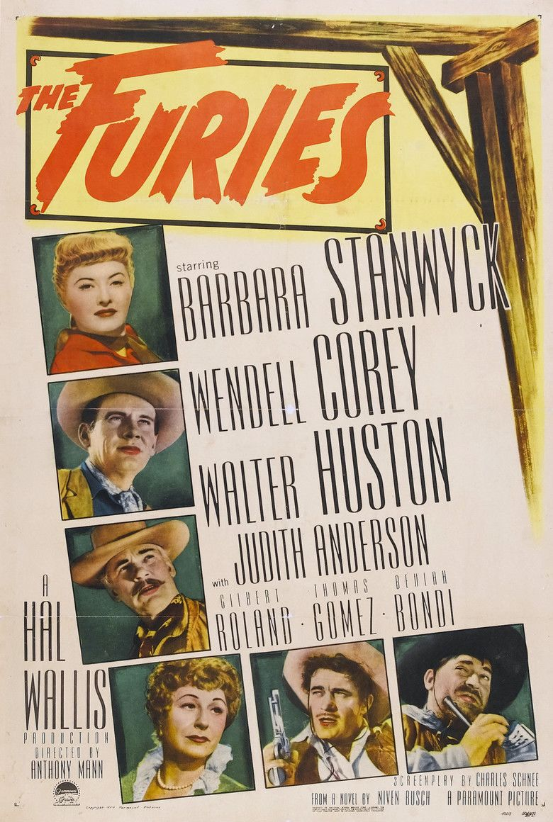 The Furies (1950 film) movie poster