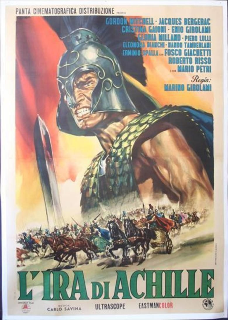 The Fury of Achilles movie poster
