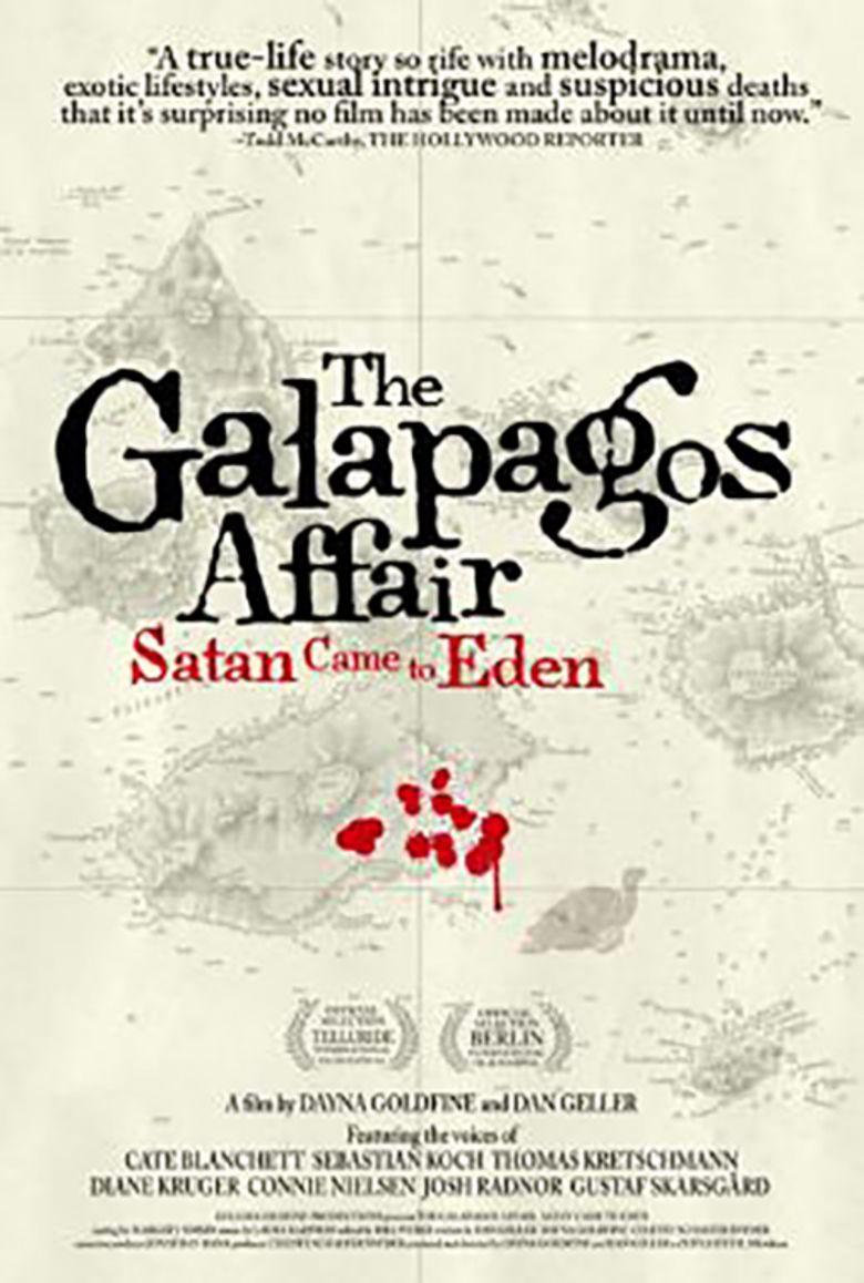 The Galapagos Affair movie poster