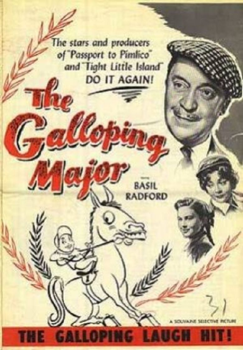 The Galloping Major (film) movie poster