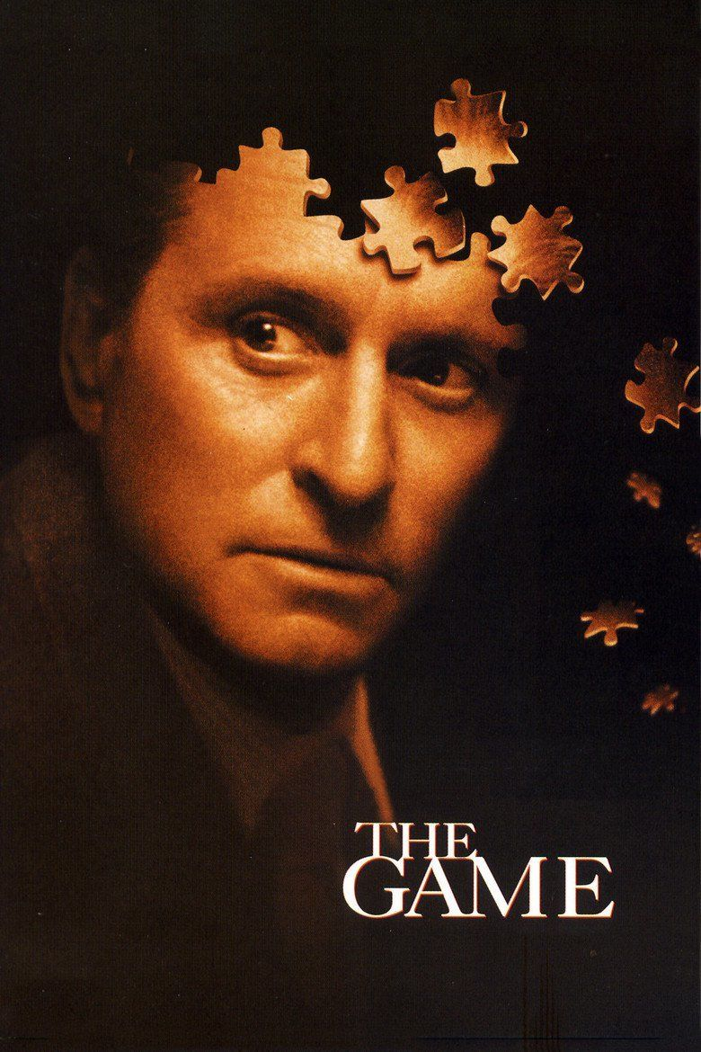 The Game (1997 film) movie poster