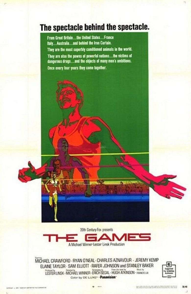 The Games (film) movie poster