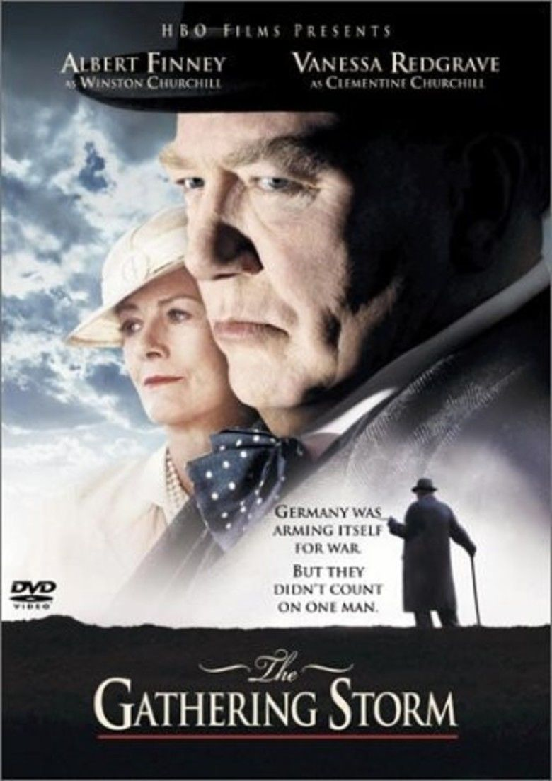 The Gathering Storm (2002 film) movie poster