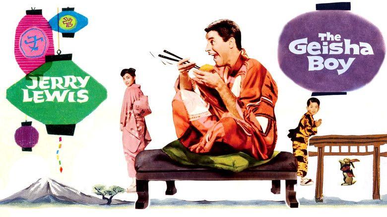 The Geisha Boy movie scenes