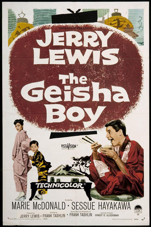 The Geisha Boy movie poster