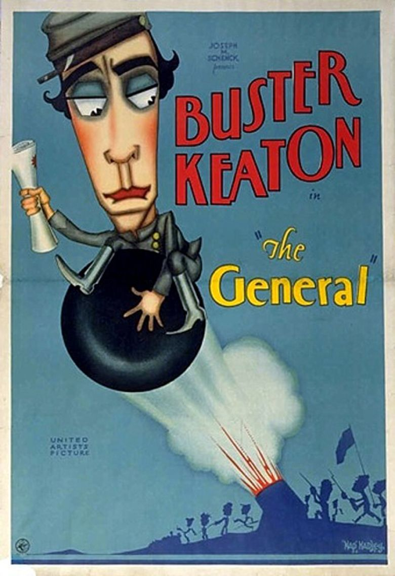 The General (1926 film) movie poster
