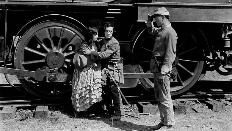 The General (1926 film) movie scenes