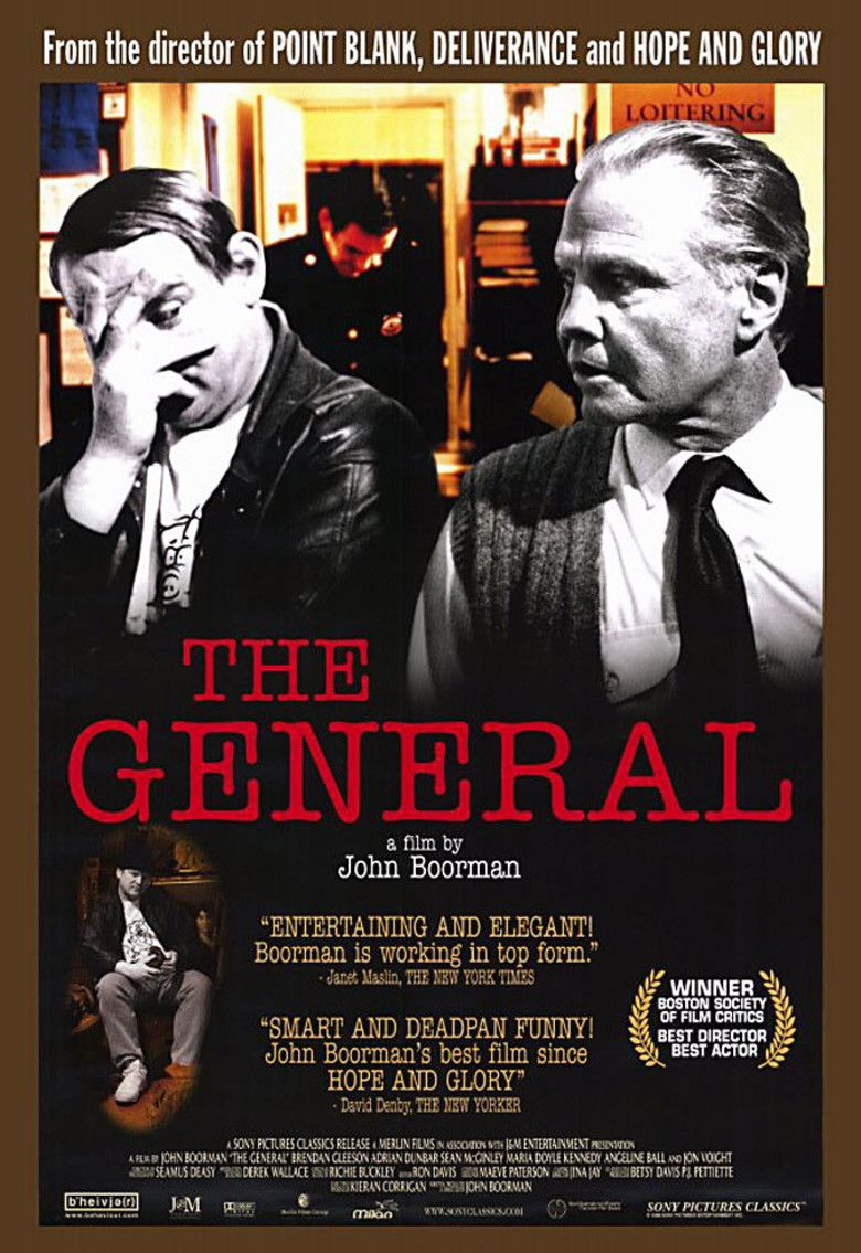 The General (1998 film) movie poster
