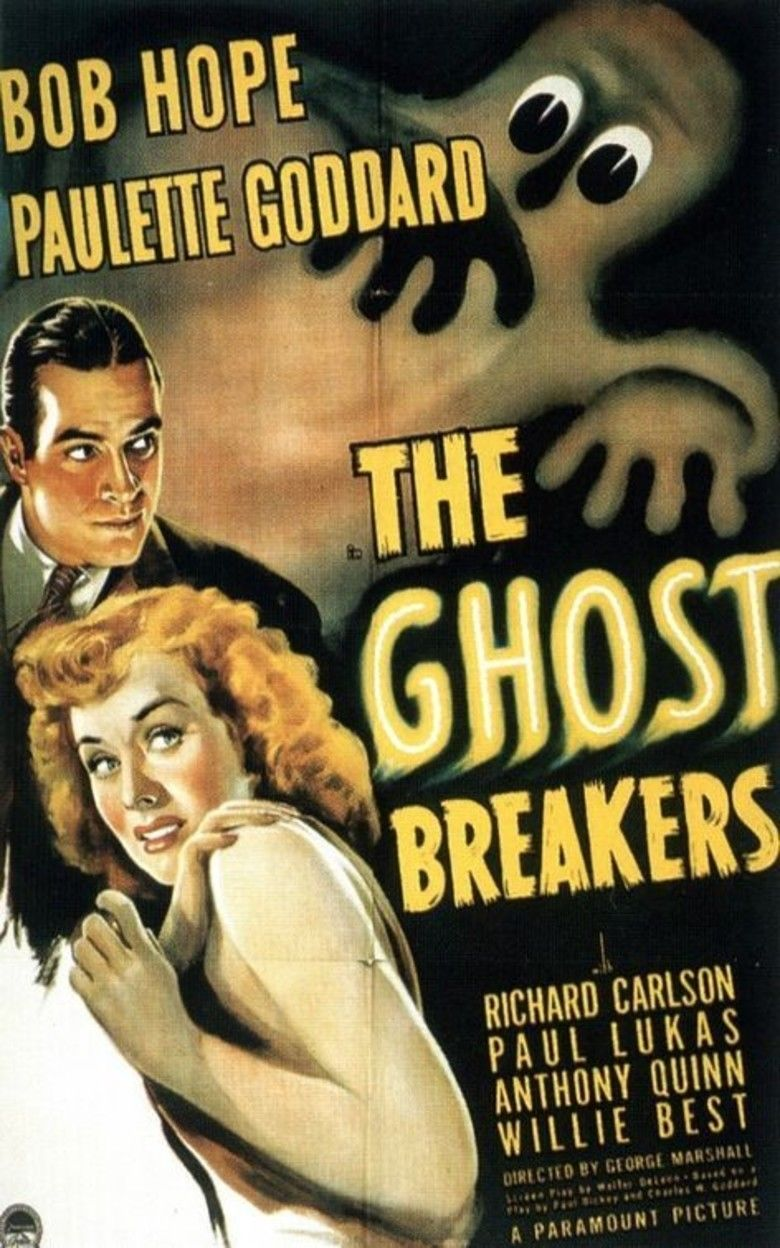 The Ghost Breakers movie poster
