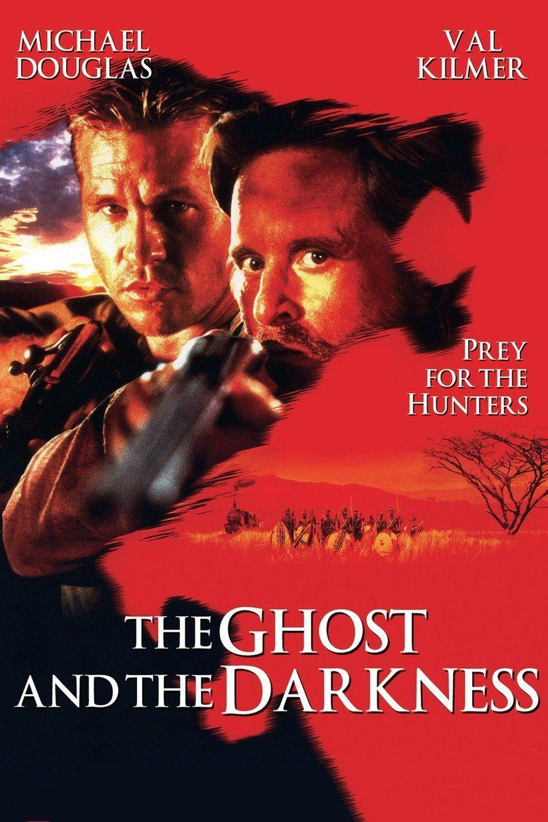 The Ghost and the Darkness movie poster