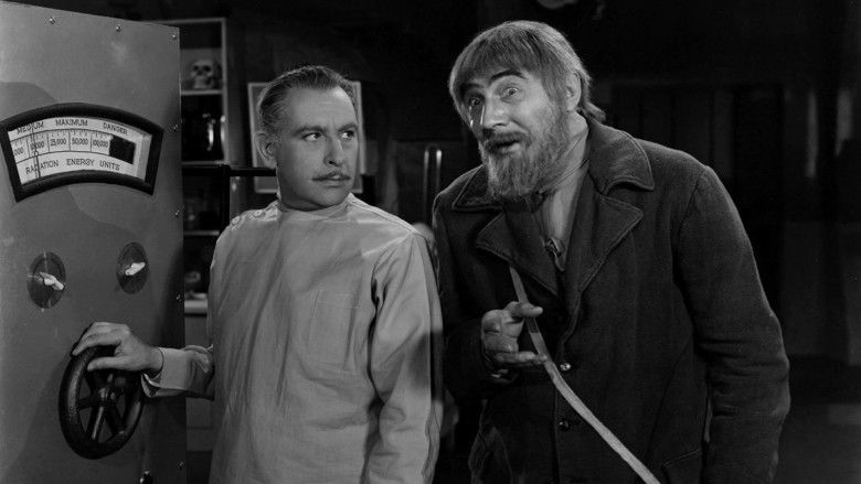 The Ghost of Frankenstein movie scenes