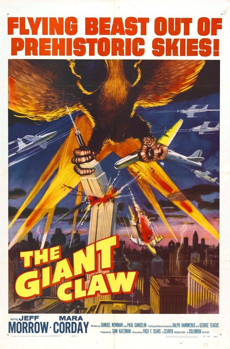 The Giant Claw movie poster
