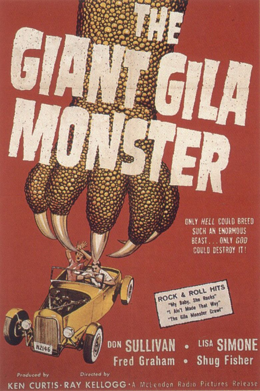 The Giant Gila Monster movie poster