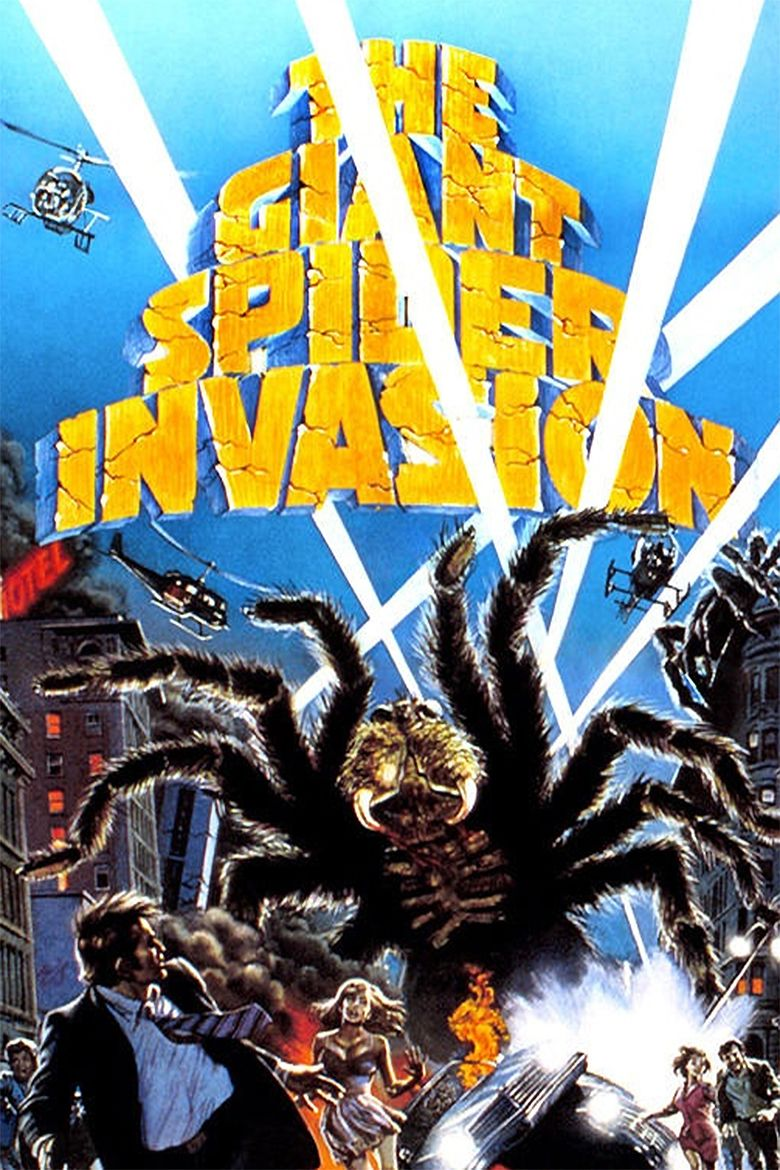 The Giant Spider Invasion movie poster