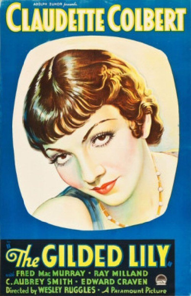The Gilded Lily (1935 film) movie poster