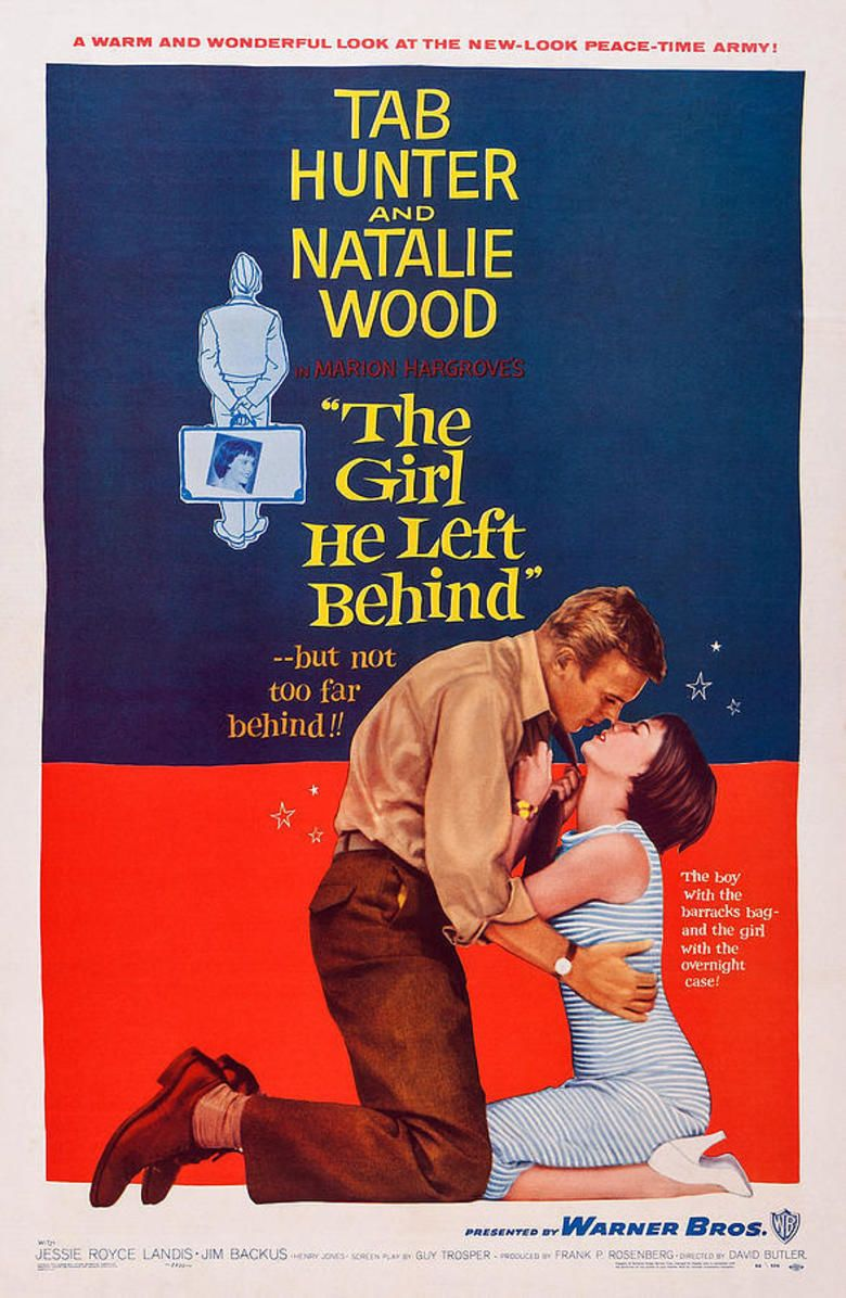 The Girl He Left Behind movie poster