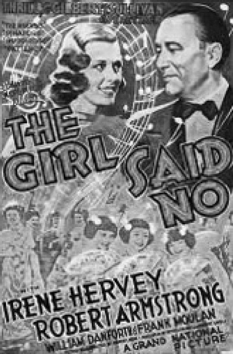 The Girl Said No (1937 film) movie poster