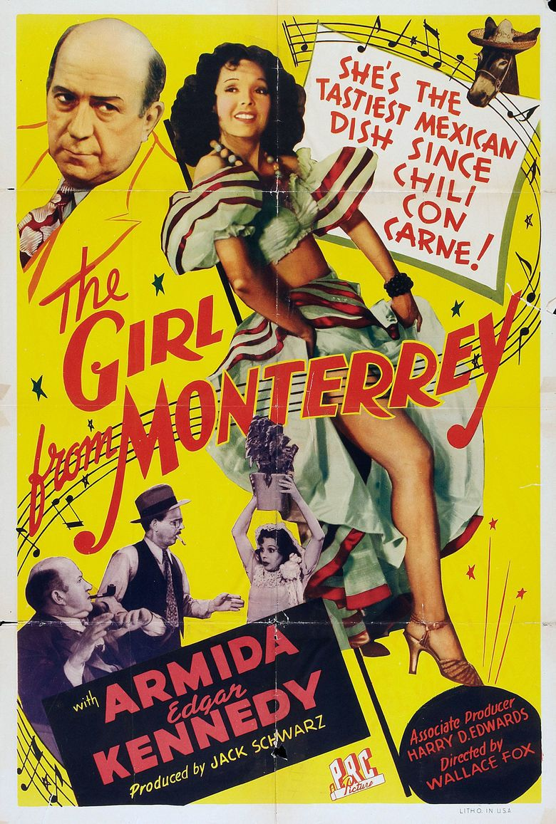 The Girl from Monterrey movie poster
