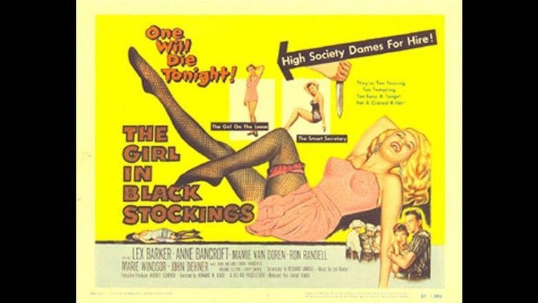 The Girl in Black Stockings movie scenes